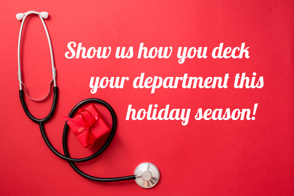 Deck your Department this holiday season for your chance to win!