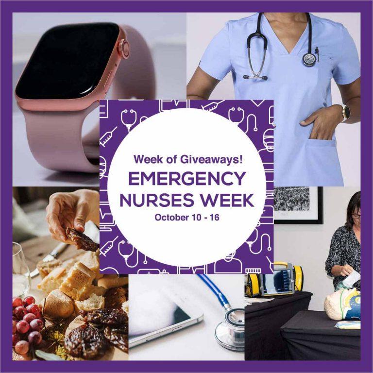 Emergency Nurses Week Giveaways